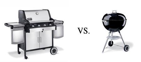 gas grills vs charcoal grills