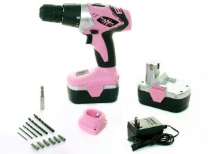 Pink Cordless power tools